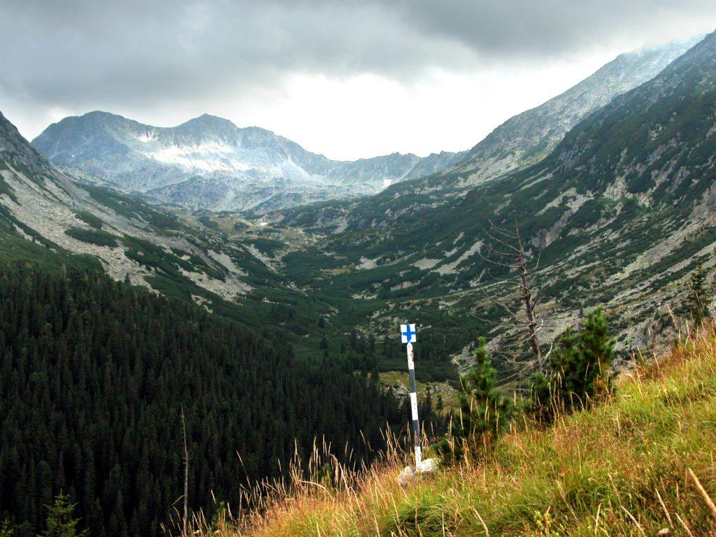 Traseu spre vârful Retezat